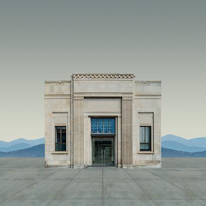 Banking「Neo-Classical Bank Building」:スマホ壁紙(5)