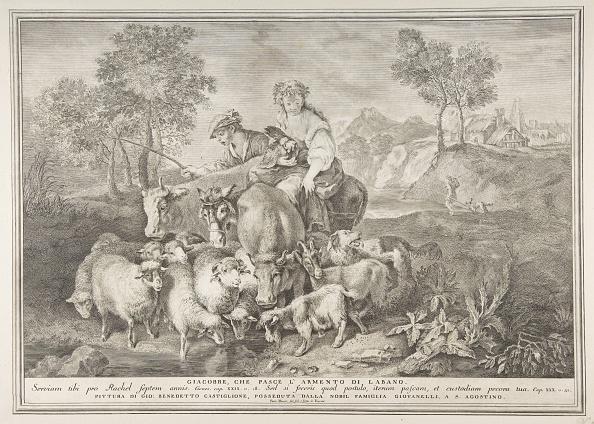 18th Century Style「Jacob Tending Labans Flock (Giacobbe」:写真・画像(1)[壁紙.com]