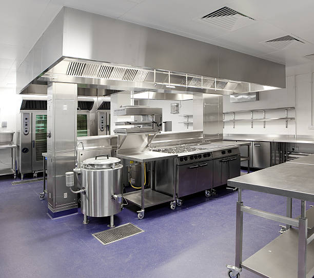 Industrial kitchen:スマホ壁紙(壁紙.com)