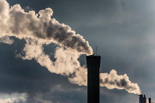 Smoke - Physical Structure「Industrial smoke stack」:スマホ壁紙(7)