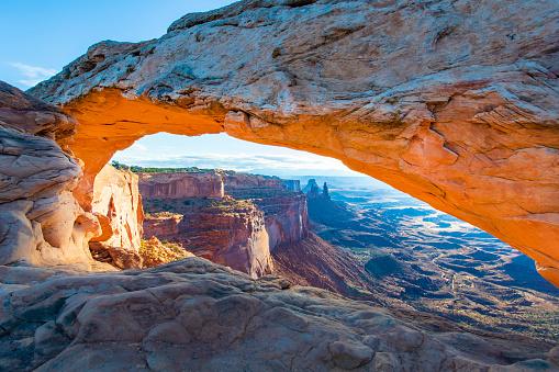 Natural Arch「Mesa Arch Sunrise」:スマホ壁紙(11)