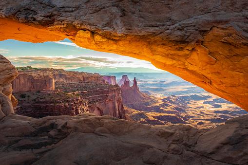 Natural Arch「Mesa Arch Sunrise」:スマホ壁紙(19)