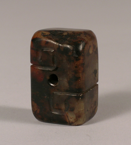 Rectangle「Agate toggle of rectangular form with a pierced center」:写真・画像(5)[壁紙.com]
