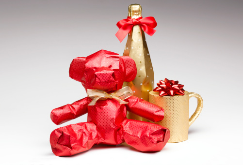 Christmas Paper「Wrapped christmas gifts」:スマホ壁紙(14)