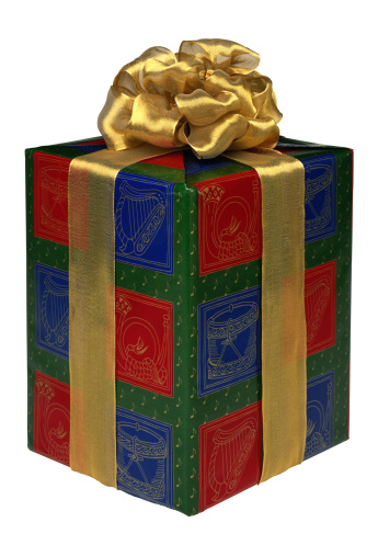 Gift Box「Wrapped Christmas Present」:スマホ壁紙(16)
