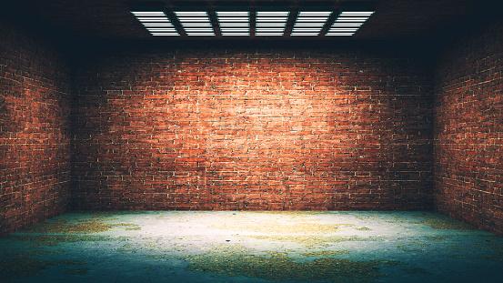 Basement「Dark, spooky, empty office or basement room」:スマホ壁紙(2)