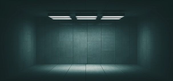 Basement「Dark, spooky, empty office room」:スマホ壁紙(17)