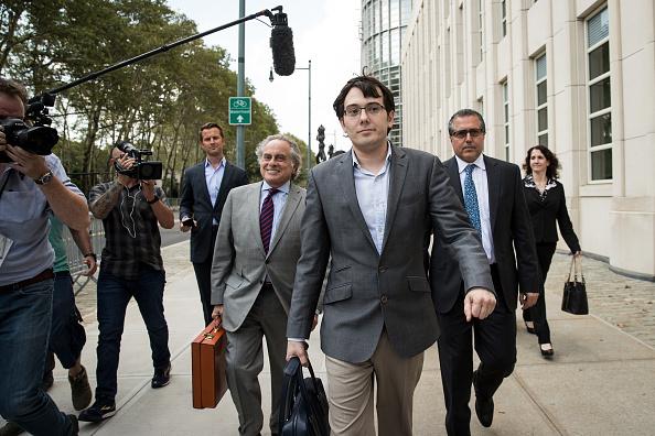 Drew Angerer「Jury Deliberations Begin In Martin Shkreli Securities Fraud Trial」:写真・画像(11)[壁紙.com]