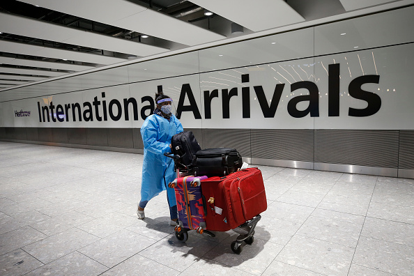Heathrow Airport「Travelers Returning To The UK From Red List Countries Required To Self Isolate」:写真・画像(6)[壁紙.com]