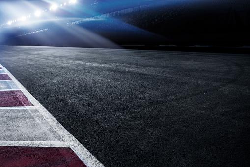 Motorsport「Night Race Track」:スマホ壁紙(12)