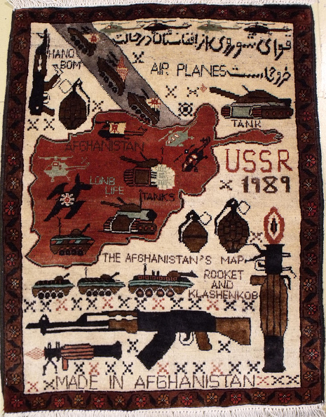 Rug「Afghan War Rug」:写真・画像(2)[壁紙.com]