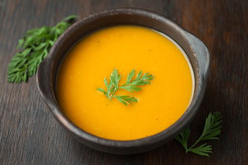 Cream Soup「Vegan butternut squash soup」:スマホ壁紙(4)