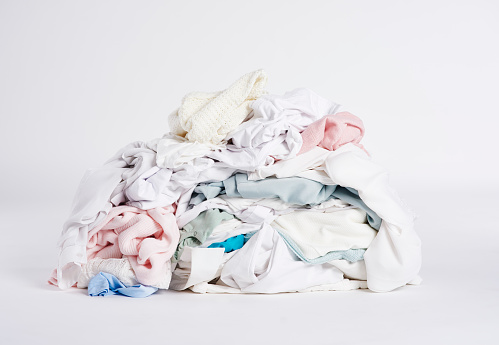 Sweater「Laundry heap on the white background.」:スマホ壁紙(16)
