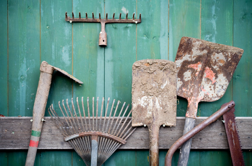 Rusty「Rusty Garden Tools」:スマホ壁紙(17)