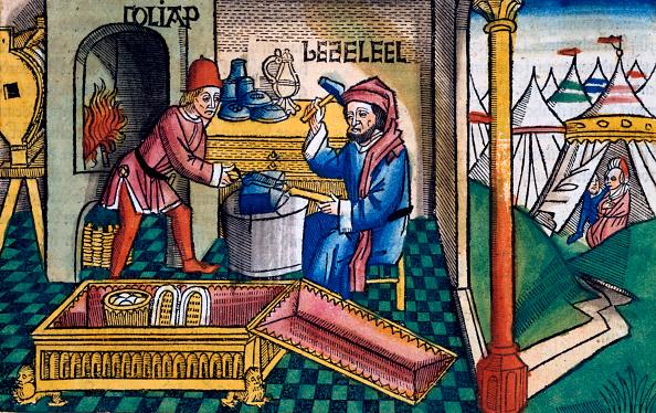 Circa 15th Century「Exodus 31:2-8: Bezalel And Aholiab Making The Ark Of The Covenant」:写真・画像(7)[壁紙.com]