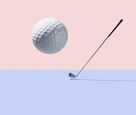 Golf Ball「Golf club and golf ball」:スマホ壁紙(6)
