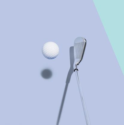 Competition「Golf club and golf ball」:スマホ壁紙(19)