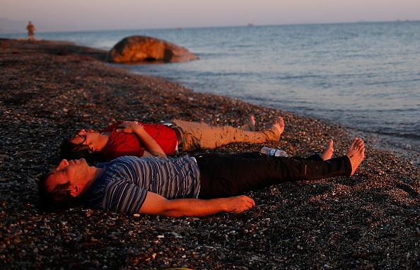 Mediterranean Sea「Migrants Arrive On The Beaches Of Kos In Greece」:写真・画像(15)[壁紙.com]