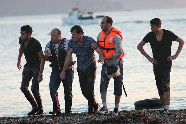 Mediterranean Sea「Migrants Arrive On The Beaches Of Kos In Greece」:写真・画像(8)[壁紙.com]