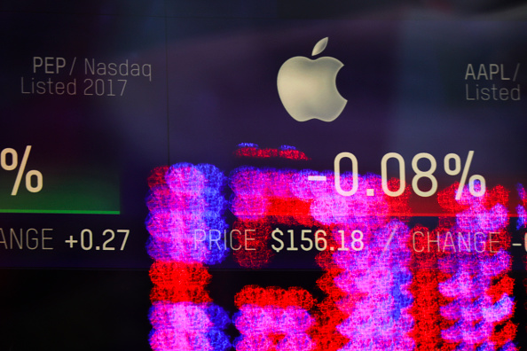 Stock Market and Exchange「Apple To Release Quarterly Earnings After Markets Close」:写真・画像(16)[壁紙.com]