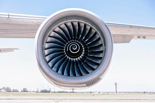 Commercial Airplane「Jet Engine」:スマホ壁紙(2)
