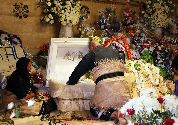 David Tua「Funeral Held For Slain Bystander Halatau Naiktiko」:写真・画像(0)[壁紙.com]