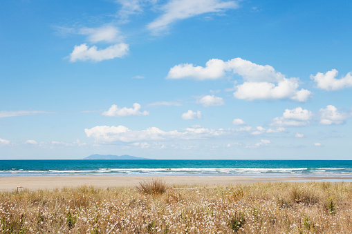 Peninsula「New Zealand, North Island, Coromandel region, Waihi Beach, South Pacific, beach」:スマホ壁紙(6)