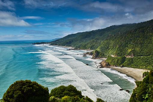 South Island New Zealand「New Zealand, South Island, Westcoast, Punakaiki」:スマホ壁紙(19)