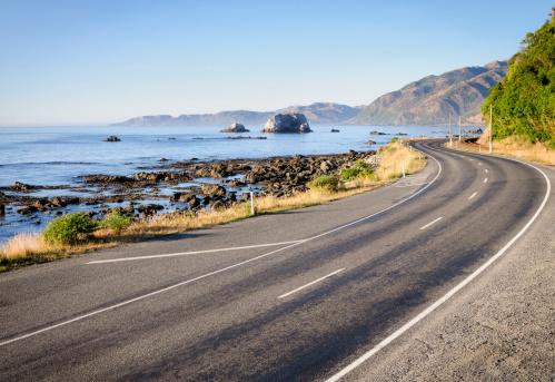 South Island New Zealand「New Zealand Country Road」:スマホ壁紙(3)
