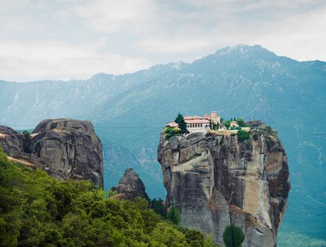 Greek Orthodox「Monastery in the Meteora, Greece」:スマホ壁紙(15)