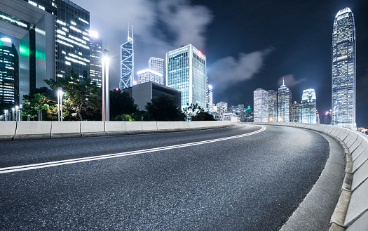 Curve「inner city road」:スマホ壁紙(4)
