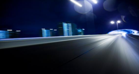 Blurred Motion「Inner City Bridge」:スマホ壁紙(8)