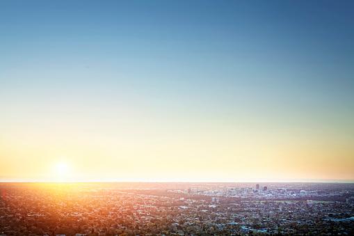 Light - Natural Phenomenon「Sunset Over Adelaide」:スマホ壁紙(11)
