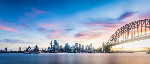 Sydney「Sunset over Sydney 71 MP」:スマホ壁紙(15)