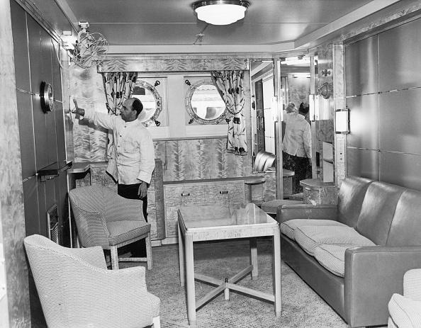 Passenger Cabin「RMS Mauretania」:写真・画像(4)[壁紙.com]