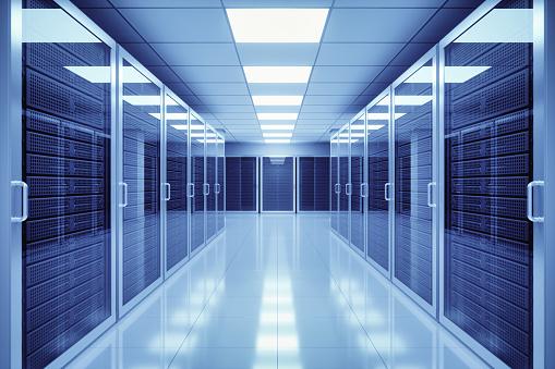 Network Server「Data Center Interior」:スマホ壁紙(2)