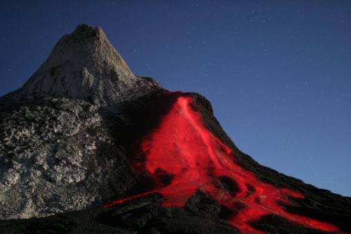 Volcano「Tanzania, Ol Doinyo Lengai volcano」:スマホ壁紙(1)