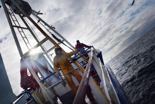 North Atlantic Ocean「Scottish Trawlermen Work The Waters Of The North Atlantic」:写真・画像(1)[壁紙.com]