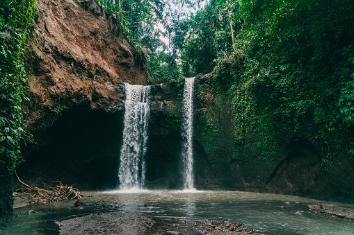 Bali「Tibumana waterfall in Bali, Indonesia」:スマホ壁紙(13)