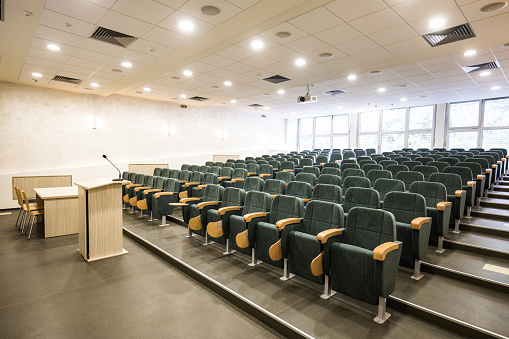 Lecture Hall「Empty lecture hall!」:スマホ壁紙(15)
