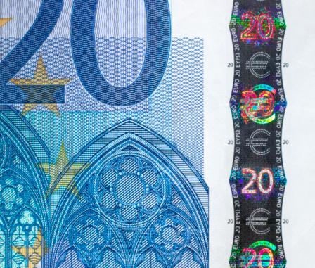 Intricacy「Twenty Euro note, close-up」:スマホ壁紙(6)