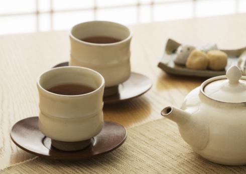 Wagashi「Roasted green tea」:スマホ壁紙(7)
