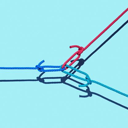 Bonding「Three ropes tied together」:スマホ壁紙(19)