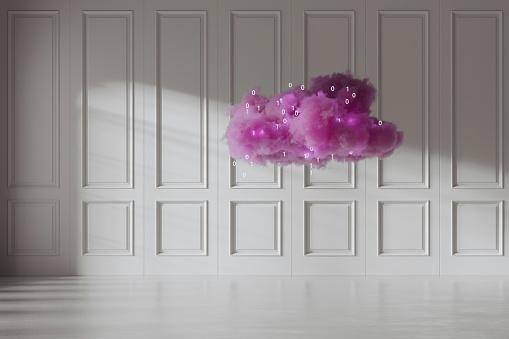 Number「Abstract cloud computing image」:スマホ壁紙(10)