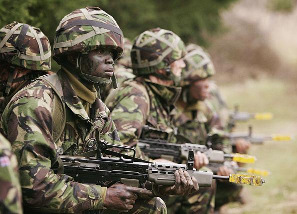 British Military「Army Recruits Go Through Basic Training In Winchester」:写真・画像(4)[壁紙.com]