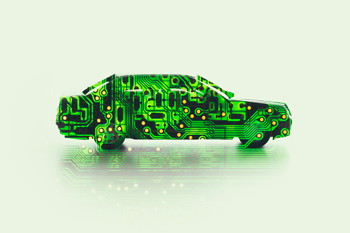 Driverless Car「Self-driving car」:スマホ壁紙(17)
