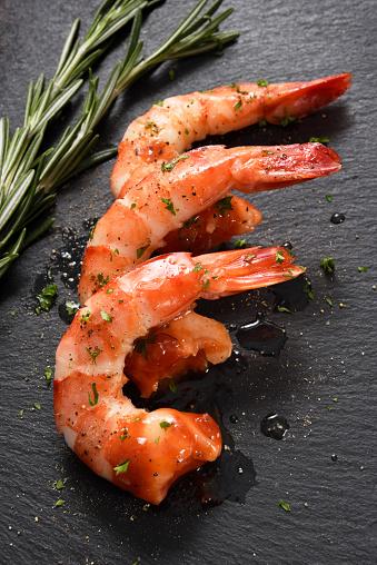 Prawn - Seafood「Shrimps and seasoning」:スマホ壁紙(4)