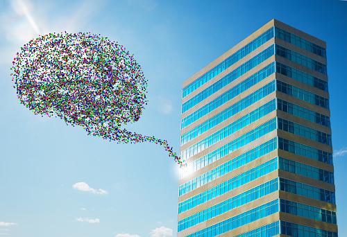 Intelligence「Data Cloud From Office Building」:スマホ壁紙(14)