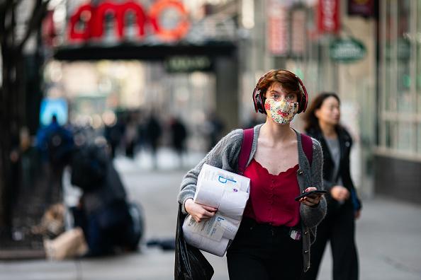 ニューヨーク市「New York City On Edge As Coronavirus Spreads」:写真・画像(18)[壁紙.com]