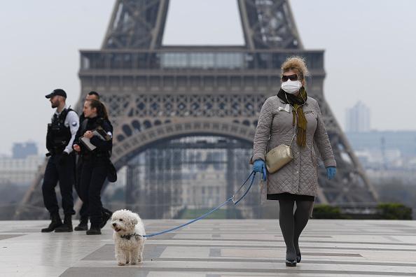 エッフェル塔「France Faces The Coronavirus」:写真・画像(2)[壁紙.com]
